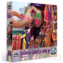 Quebra-cabeça - Cores da Ásia  1000 peças - India - Toyster -