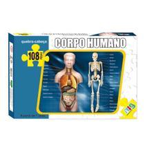 Quebra-Cabeça - Corpo Humano - 108 peças - NIG - Nig brinquedos