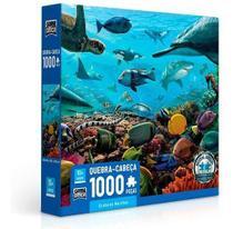 Quebra-cabeça Criaturas Marinhas 1000 Peças  Game Office -