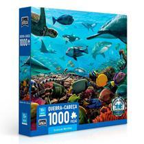 Quebra-Cabeça Criaturas Marinhas 1000 peças - Toyster