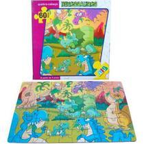 Quebra-Cabeça - Dinossauro - 60 peças - NIG - Nig brinquedos