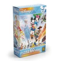 Quebra-Cabeça Disney 60 Peças - Grow