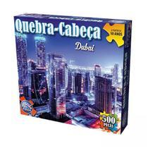 Quebra-cabeça Dubai 500 Peças - Pais e Filhos -