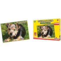 Quebra-cabeça ecológico com 24 peças - cachorro - Ciabrink