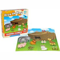 Quebra-Cabeça em Madeira - Arca de Noé - 60 peças - Nig - Nig brinquedos