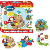Quebra Cabeça Em Madeira Infantil Folclore Brasileiro 30 Pcs - Nig Brinquedos