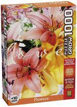 Quebra Cabeça Flowers 1000 Peças - Grow 4035 -