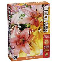 Quebra-Cabeça Flowers 1000 Peças - Grow