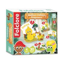 Quebra Cabeça Folclore Progressivo - 30 peças - Nig Brinquedos -