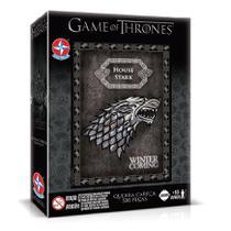 Quebra Cabeça Game Of Thrones Stark 500 Peças - Estrela -
