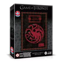 Quebra Cabeça Game Of Thrones Targaryen 500 Peças - Estrela -