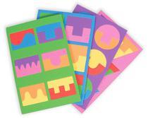 Quebra Cabeça Geométrico Com 4 Placas - Play Hobbies