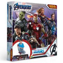 Quebra-Cabeça Grandão - 120 Peças - Disney - Marvel - Vingadores - Ultimato - Toyster -