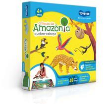 Quebra-Cabeça - Grandão - 48 Peças - Animais da Amazônia - Toyster - SEM LICENÇA