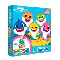 Quebra-cabeça Grandão Baby Shark 48 Peças - Jak -