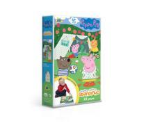 Quebra-Cabeça Grandinho Peppa Pig 28 peças - Jak -