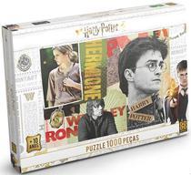 Quebra-cabeça - Harry Potter - 1000 Peças 03617 - Grow -