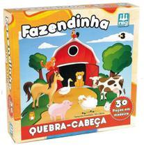 Quebra Cabeça Infantil Fazendinha - NIG Brinquedos -