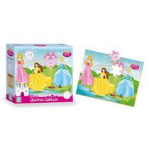Quebra - Cabeça Infantil Princesas - Nig Brinquedos -
