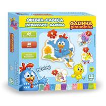 Quebra Cabeça Infantil Progressivo Galinha Pintadinha Nig - Nig Brinquedos
