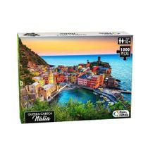 Quebra Cabeça Itália Premium 1000 Pc - Pais & Filhos - Big Star -