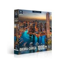 Quebra-Cabeça - Marina de Dubai - 1000 peças - Toyster -
