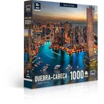 Quebra Cabeça - Marina de Dubai - 1000 Peças - Toyster -