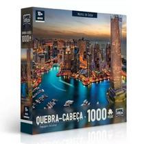 Quebra-Cabeça Marina de Dubai Puzzle 1000 Peças - Hasbro