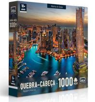 Quebra Cabeça Marina Dubai Puzzle 1000 Peças - Toyster