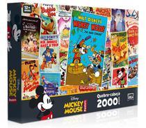 Quebra Cabeça Mickey Mouse 2000 Peças Toyster -