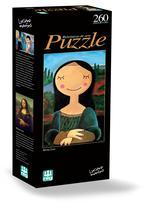 Quebra-Cabeça Mona Lisa 260 Peças - Nig Brinquedos -