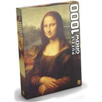 Quebra Cabeça Monalisa 1000 pcs -  Grow 3089 -
