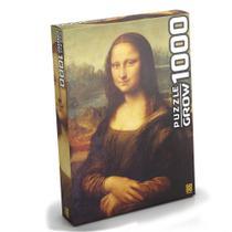 Quebra-cabeça Monalisa 1000 Peças 3089 - Grow -