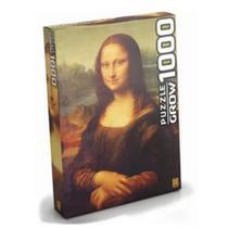 Quebra-Cabeça Monalisa 1000 peças- Grow -