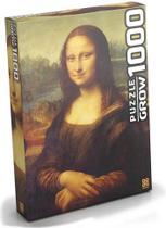 Quebra-Cabeça Monalisa 1000 peças GROW -