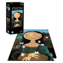 Quebra Cabeça Monalisa Releituras de Arte - 260 peças - Nig brinquedos