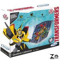 Quebra-Cabeça Monta Figuras Transformers 24 Peças - Xalingo -