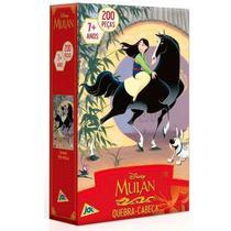 Quebra-Cabeça Mulan 200 peças - Jak -