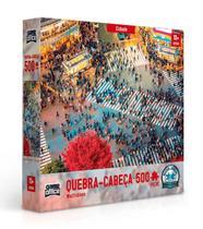 Quebra Cabeça Multidoes Cidade 500 Peças Toyster -