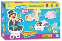 Quebra Cabeça Mundo Bita E Os Animais - NIG Brinquedos -