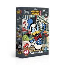 Quebra Cabeça Nano 500 Peças Mickey Mouse Donald Disney Toyster -
