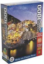 Quebra Cabeça - Noite Em Cinque Terre 1000 peças - Grow