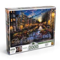 Quebra-Cabeça P2000 Verão em Amsterdã - Grow -