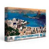 Quebra Cabeça Panorâmico - Rio de Janeiro - 1500 peças - Toyster -