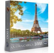 Quebra Cabeça Paris 1000 Peças Toyster -