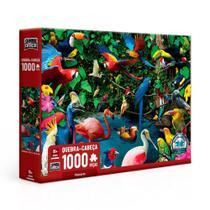 Quebra-Cabeça Pássaros 1000 Peças - Toyster