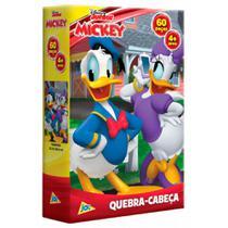 Quebra-Cabeça Pato Donald e Margarida Disney 60 peças Toyster -