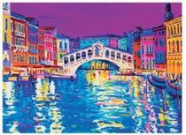 Quebra-Cabeça Pinturas da Itália 1000 peças Toyster -
