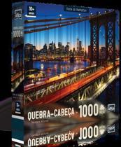 Quebra Cabeça Ponte De Manhattan 1000 Peças - Toyster -