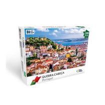 Quebra cabeça portugal 1000 peças premium - 7288 - Pais & Filhos